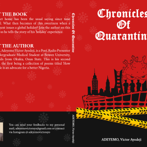 Chronicles of Quarantine by ADEYEMO, Victor Ayodeji